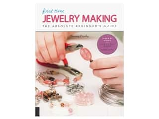 beading & jewelry making supplies: Quarry First Time Jewelry Making Book