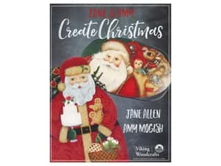 books & patterns: Viking Woodcrafts Jane & Amy Create Christmas Book