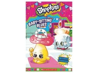 Scholastic Shopkins Baby Sitting Blues Book