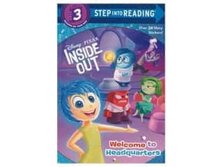 books & patterns: Random House Disney Inside Out Welcome to Headquarters Book