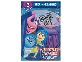 Random House Disney Inside Out Journey Into The Mind Book