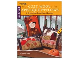 Leisure Arts Cozy Wool Applique Pillows Book