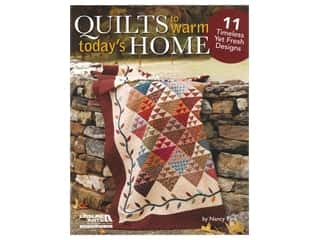 books & patterns: Leisure Arts Quilts to Warm Today's Home Book