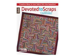 Leisure Arts Best of Quiltmaker Devoted to Scraps Book