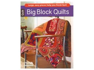Leisure Arts Big Block Quilts Book