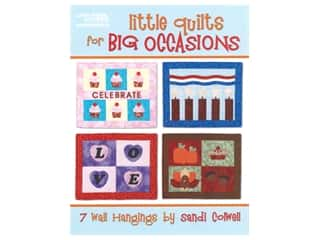 books & patterns: Leisure Arts Little Quilts for Big Occasions Book