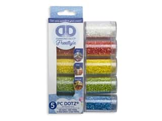 Diamond Dotz Freestyle Gems Sampler Pack 5 pc. Aurora Borealis