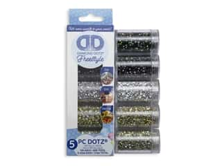yarn & needlework: Diamond Dotz Freestyle Gems Sampler Pack 5 pc. Metallic