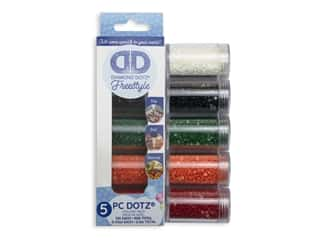 yarn & needlework: Diamond Dotz Freestyle Gems Sampler Pack 5 pc. Holiday