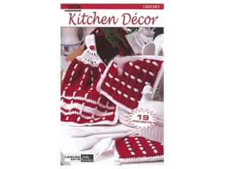 books & patterns: Leisure Arts Crochet Kitchen Decor Book