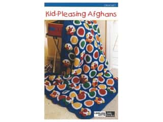 books & patterns: Leisure Arts Kid Pleasing Afghans Crochet Book