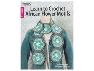 Leisure Arts Learn to Crochet African Flower Motifs Book