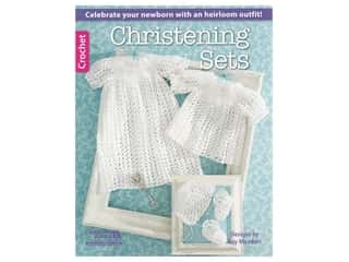 Leisure Arts Christening Sets Crochet Book
