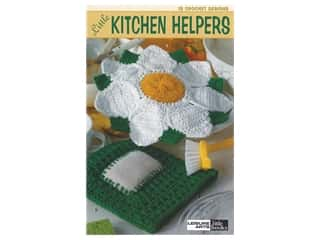 Leisure Arts Crochet Little Kitchen Helpers Book