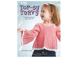 Leisure Arts Top-Sy Turvy 5 Crochet Swearers Book