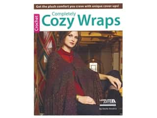 Leisure Arts Completely Cozy Wraps Crochet Book