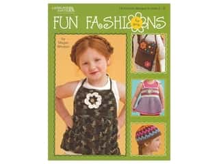 Leisure Arts Fun Fashions For Girls Crochet Book