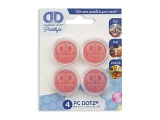 Diamond Dotz Wax Pots 4 pc.