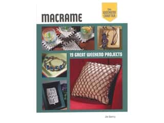 books & patterns: Lark The Weekend Crafter Macrame Book