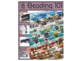 beading & jewelry making supplies: Hot Off The Press Beading 101 Book