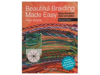 beading & jewelry making supplies: Search Press Beautiful Braiding Made Easy Book