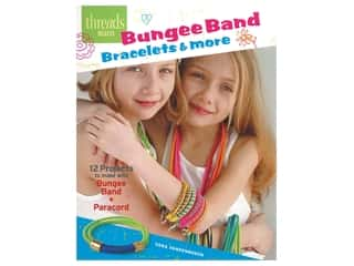 beading & jewelry making supplies: Taunton Press Threads Selects Bungee Band Bracelets & More Book