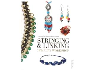 books & patterns: Guild Of Master Craftsman Publications Stringing & Linking Jewelry Workshop Book