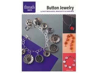 beading & jewelry making supplies: Taunton Press Threads Selects Button Jewelry Book