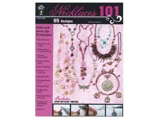 beading & jewelry making supplies: Hot Off The Press Necklaces 101 Book