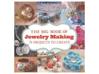beading & jewelry making supplies: Guild Of Master Craftsman Publications The Big Book of Jewelry Making 75 Projects to Create Book