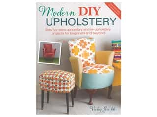 books & patterns: David & Charles Modern DIY Upholstery Book