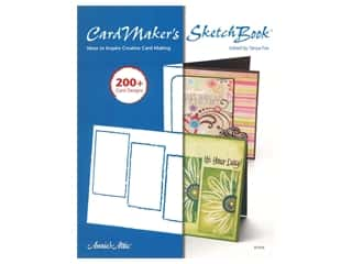 scrapbooking & paper crafts: Annie's Cardmaker's Sketch Book Ideas To Inspire Creative Card Making Book
