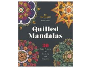 scrapbooking & paper crafts: Lark Quilled Mandalas Book