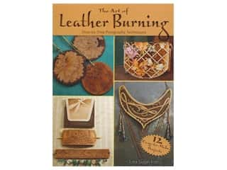 beading & jewelry making supplies: Dover The Art of Leather Burning Book