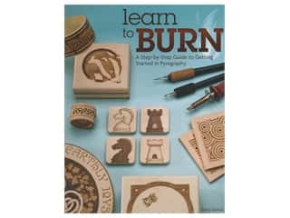 books & patterns: Fox Chapel Learn To Burn Book