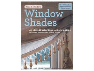 books & patterns: Potter Make It With Style Window Shades Book