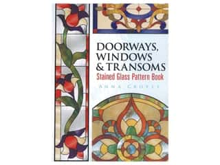 Dover Doorways, Windows & Transoms Stained Glass Book