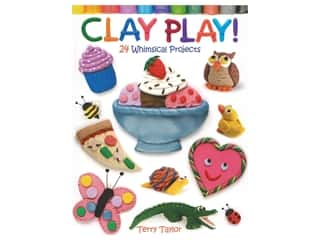 books & patterns: Dover Clay Play 24 Whimsical Projects Book
