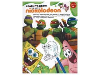 books & patterns: Walter Foster Jr Learn To Draw The Best of Nickelodeon Book