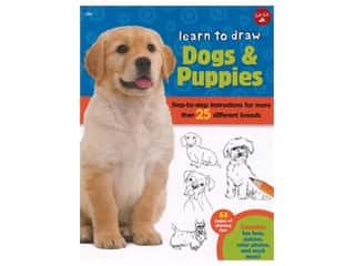 books & patterns: Walter Foster Jr Learn To Draw Dogs & Puppies Book