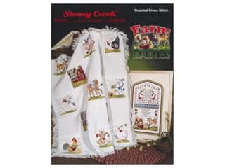 Stoney Creek Farm Babies Cross Stitch Book