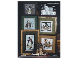 books & patterns: Stoney Creek Fun Flakes Cross Stitch Book