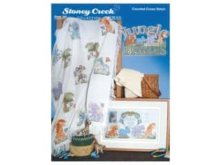 Stoney Creek Jungle Babies Cross Stitch Book
