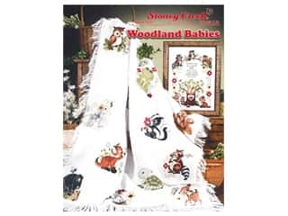 Stoney Creek Woodland Babies Cross Stitch Book