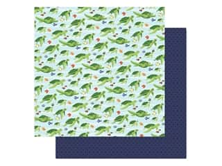 "scrapbooking & paper crafts: Carta Bella Fish Are Friends Paper 12""x 12"" Sea Friends (25 pieces)"