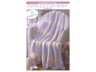books & patterns: Leisure Arts Beginner Guide Ripple For Baby Book