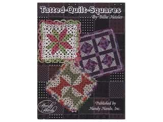 books & patterns: Handy Hands Tatted Quilt Squares Book