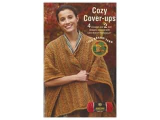 Leisure Arts Lion Brand Cozy Cover Ups Book