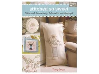 That Patchwork Place Stitched So Sweet Embroidery Book