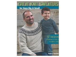 Stackpole Books Great Knit Sweaters For Guys Big and Small Book